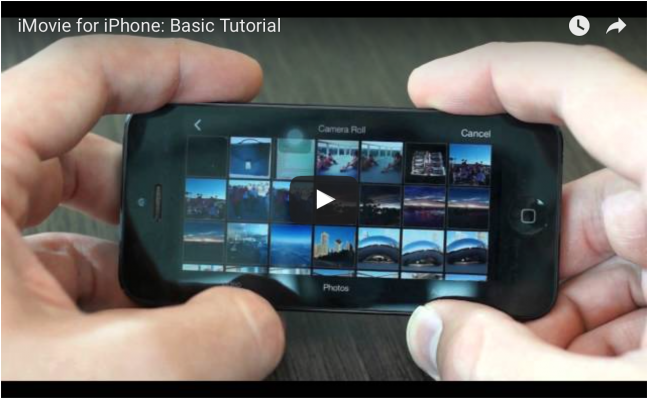 <h5>4. Tutorial: How to use iMovie with the iPhone and iPod (UPDATED)</h5><p>Here are some updated videos from iMovie 2.0+. You can find videos to help you with the old version of iMovie in the original post found below. </p>