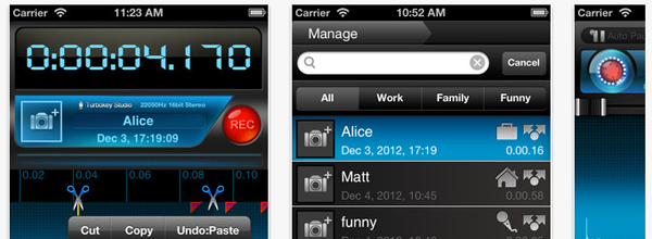Apps for the student journalist: Recorder Plus II/HD
