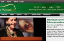 Front page of Borah's high school news website.