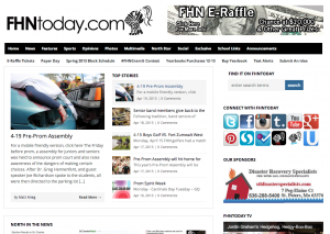 Screen Shot of http://FHNtoday.com