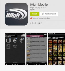 Ihigh.com Mobile app