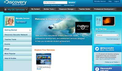 Discovery Education Site