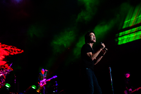 On Saturday August 10, 2013, Train played the Sleep Train Amphitheatre in Wheatland, California near Sacramento. The Script, Gavin DeGraw, and Ashley Monroe are part of the Mermaids of Alcatraz Tour.