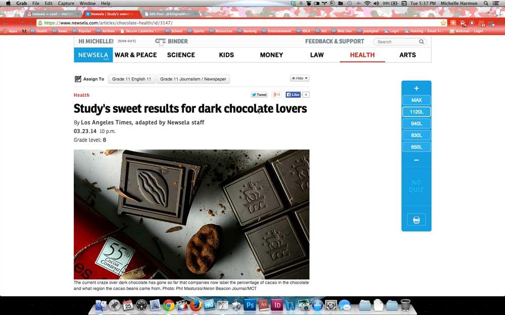 Newsela.com screenshot