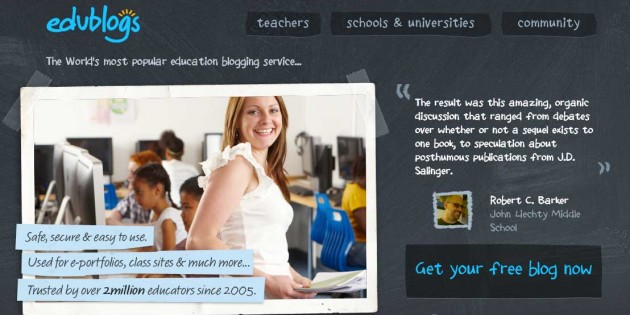 Edublogs helps advisers manage classroom blogging