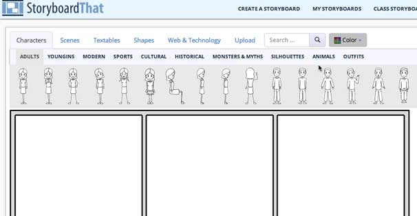 Everyone can do an editorial cartoon with Storyboard That