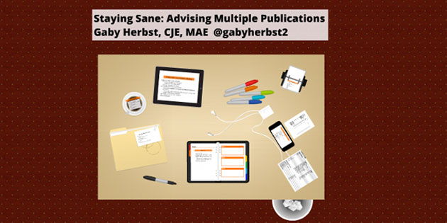 [Presentation] Tips for Advising Multiple Publications