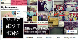You can see the active Niles West News Facebook page here: https://www.facebook.com/pages/Niles-West-News/147077978656104