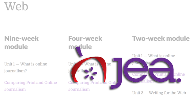 Beat coverage, multimedia packages and more: The JEA Web curriculum