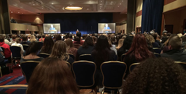Bob Woodward opening keynote photo