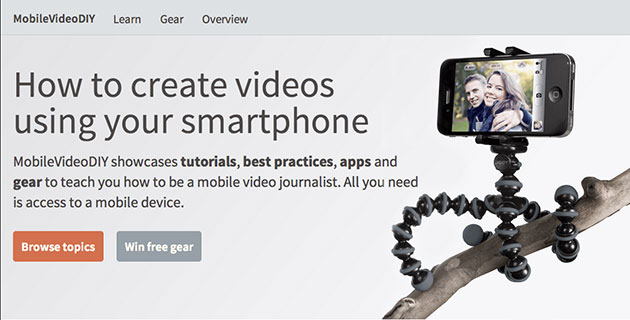 MobileVideoDIY.com website
