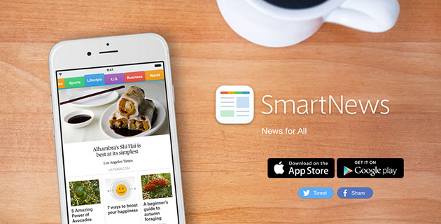 SmartNews website