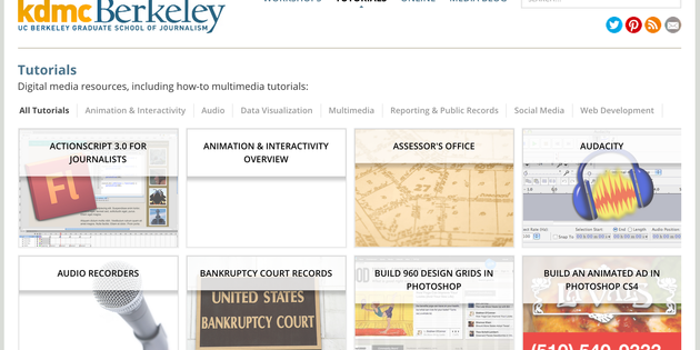 UC Berkeley offers free online tutorials