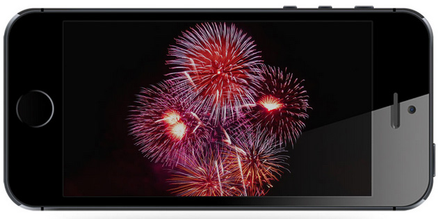 Fireworks on iPhone