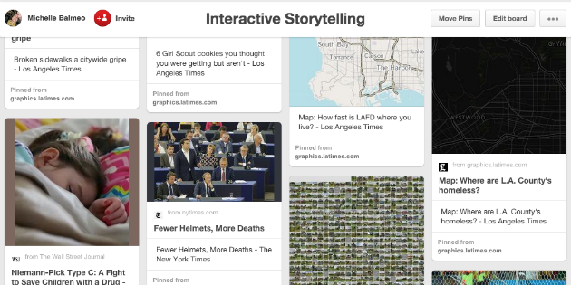 interactive storytelling board