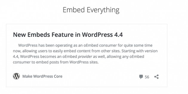 WordPress formats links automatically in posts with 4.4 update