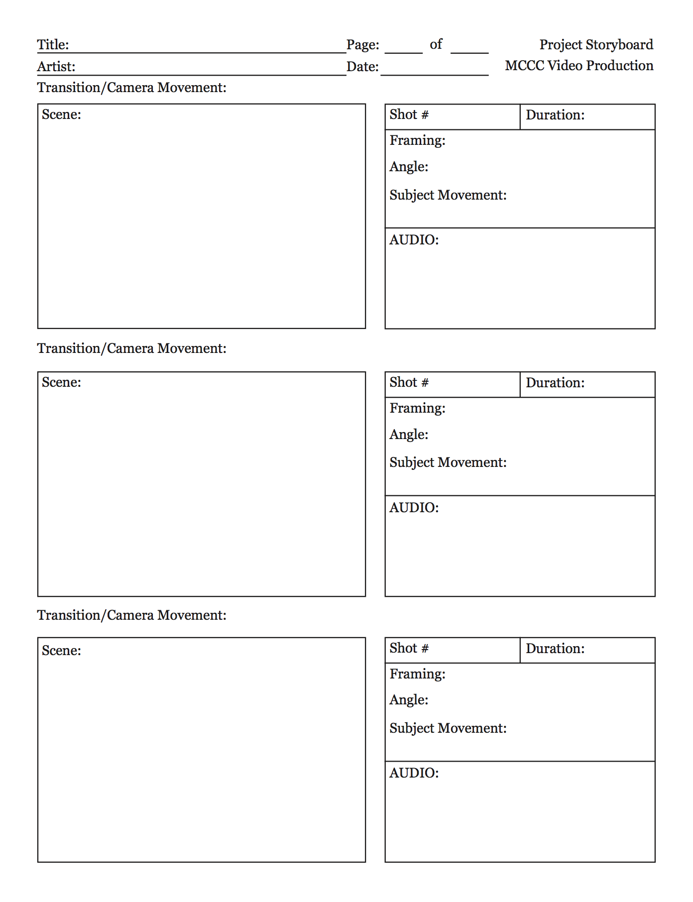 Downloadable storyboard templates for broadcast journalism screen shot 2016 05 24 at 110244 am saigontimesfo
