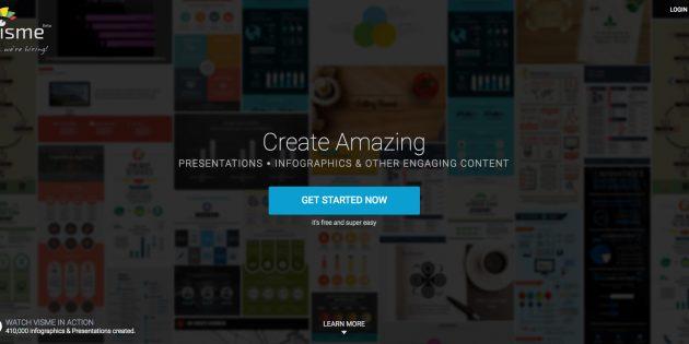 Visme:  A New Online Infographic and Slide Shows Maker