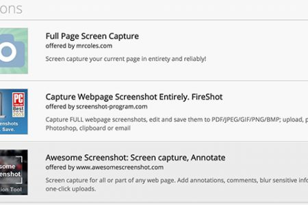 Easily Screen Capture a Webpage in Google Chrome With This Extension