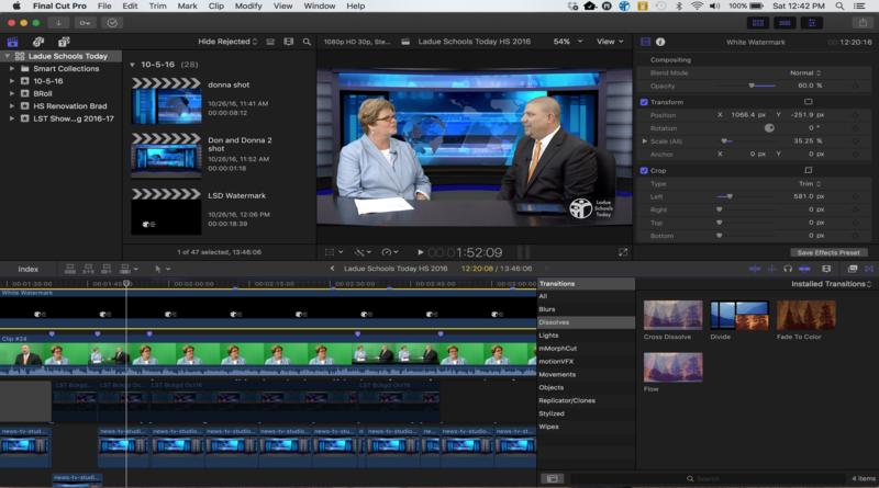 Final Cut Pro X versus Adobe Premiere: the video editing