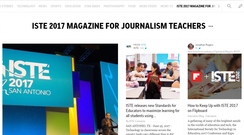 Digital Journalism Highlights and Resources from ISTE Conference 2017