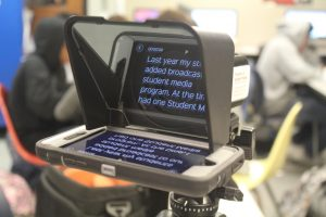 The Parrot Teleprompter is an affordable, compact solution