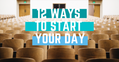 12 Ways to Start Your Day