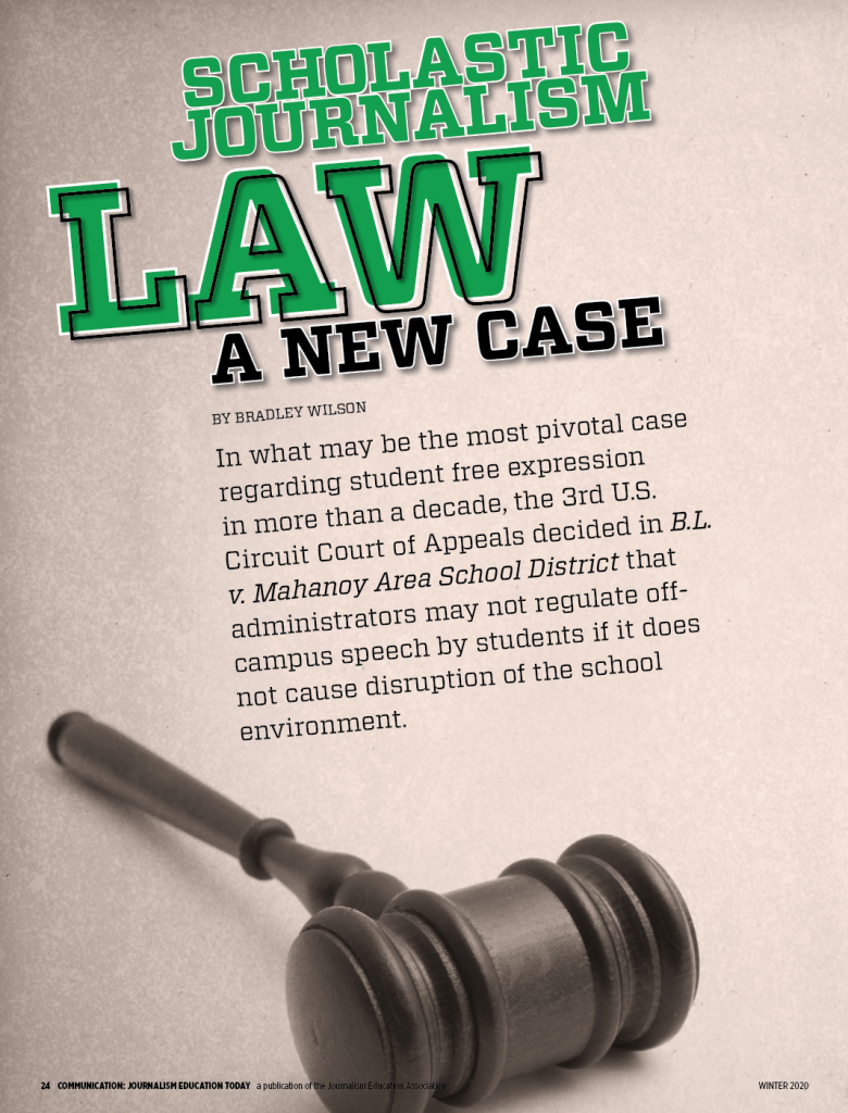 law front page
