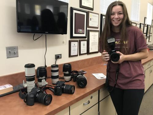 camera checkout